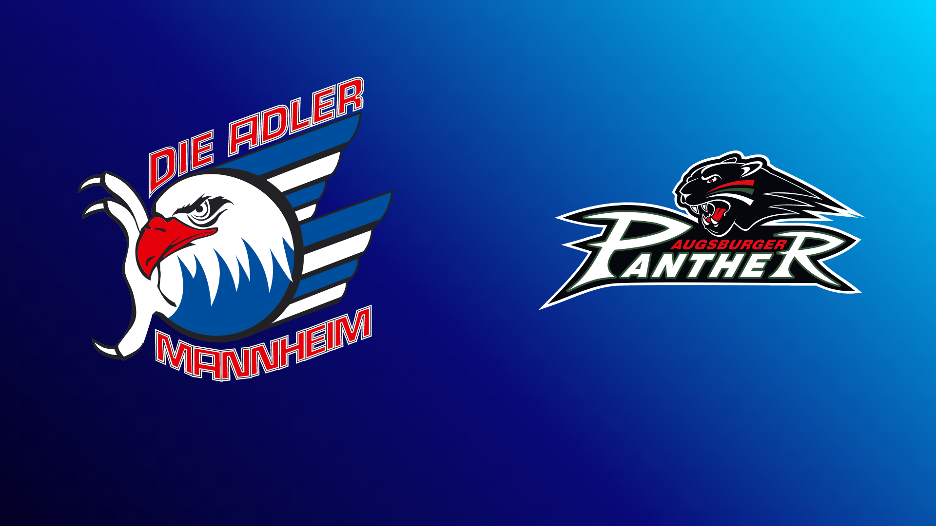 Adler Mannheim - Augsburger Panther 22.10.2021 um 19:00 Uhr auf Magenta Sport