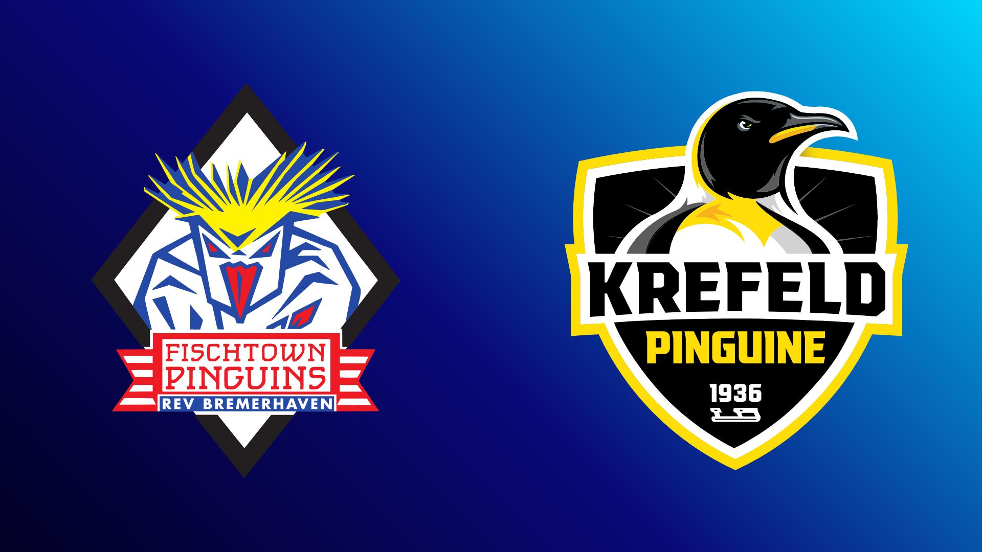 Pinguins Bremerhaven - Krefeld Pinguine 22.10.2021 um 19:00 Uhr auf Magenta Sport