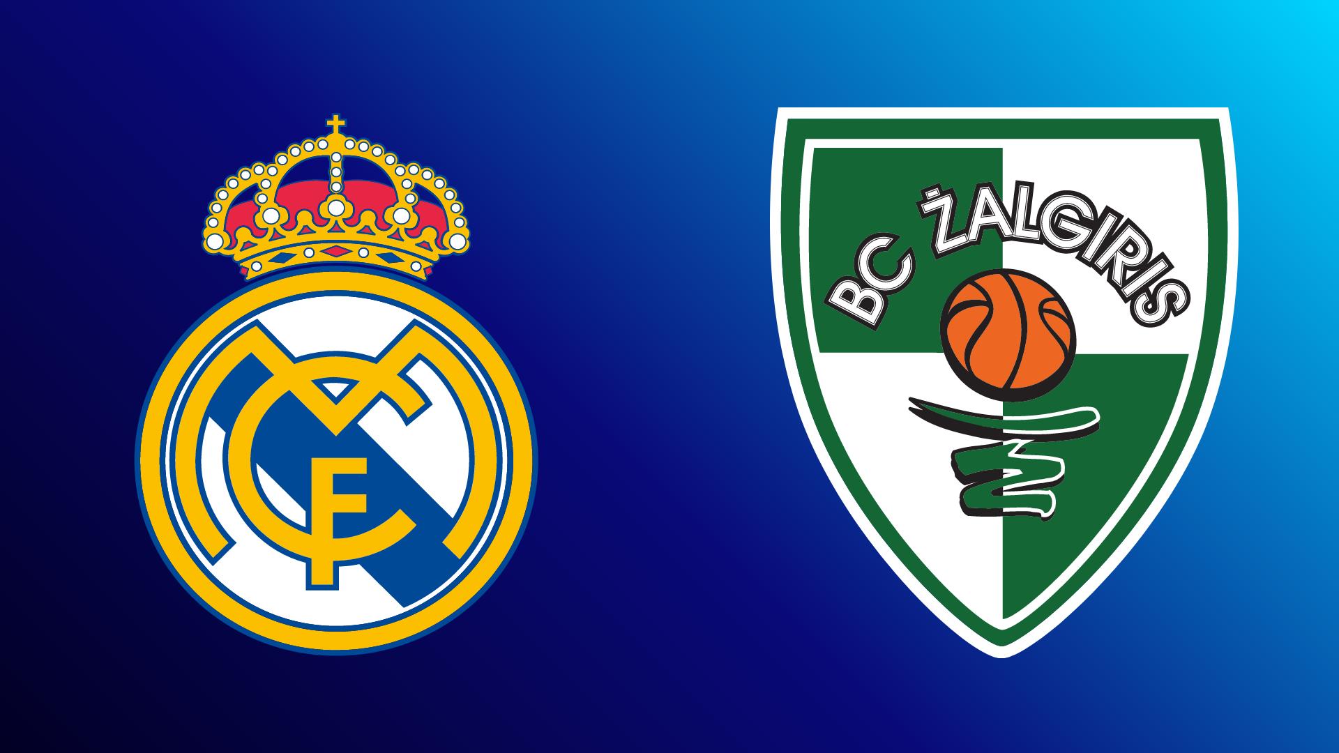 Real Madrid - Zalgiris Kaunas 25.02.2021 um 20:45 Uhr auf Magenta Sport