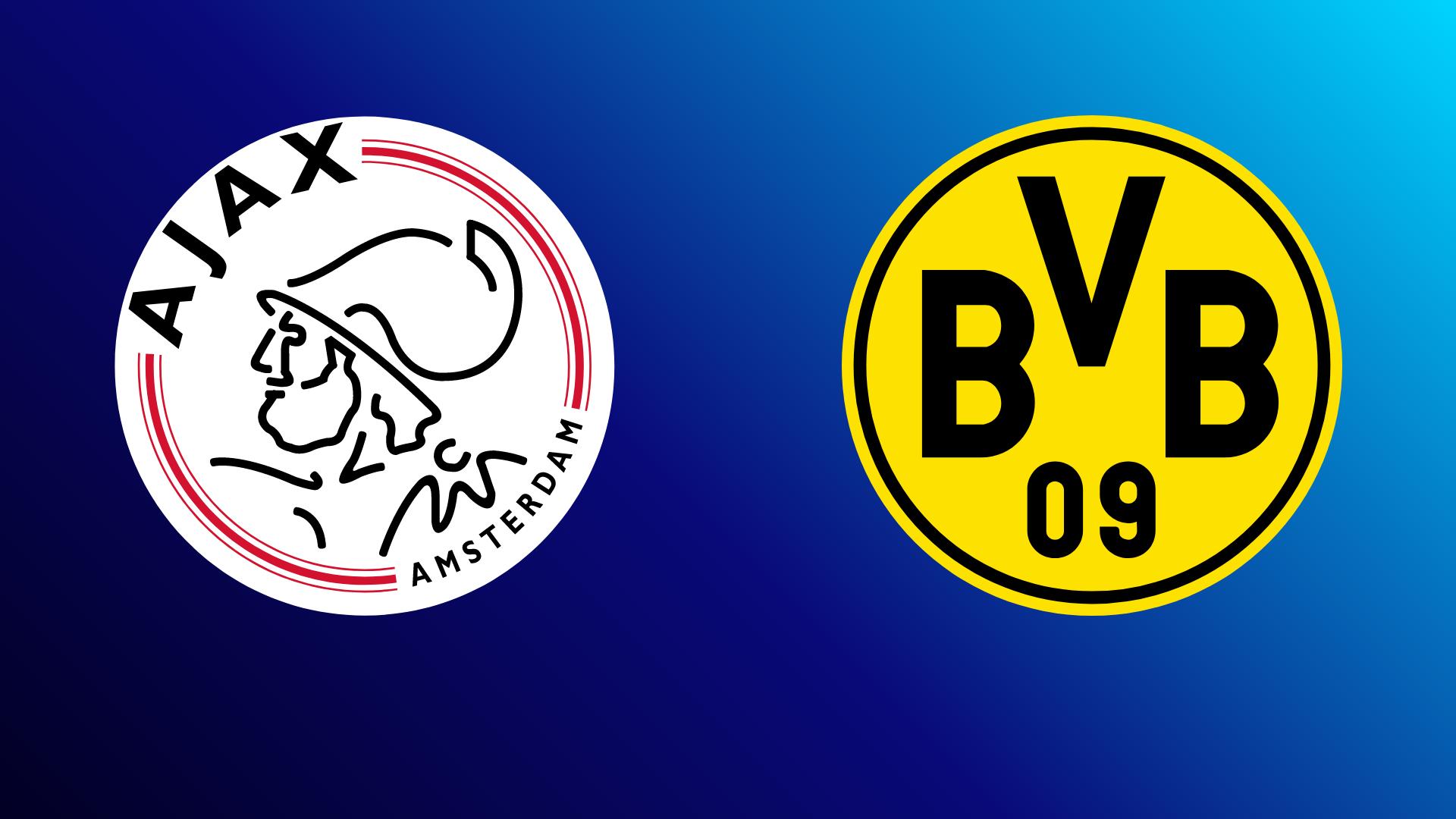 Ajax Amsterdam - Borussia Dortmund 19.10.2021 um 19:30 Uhr auf Amazon Prime Video