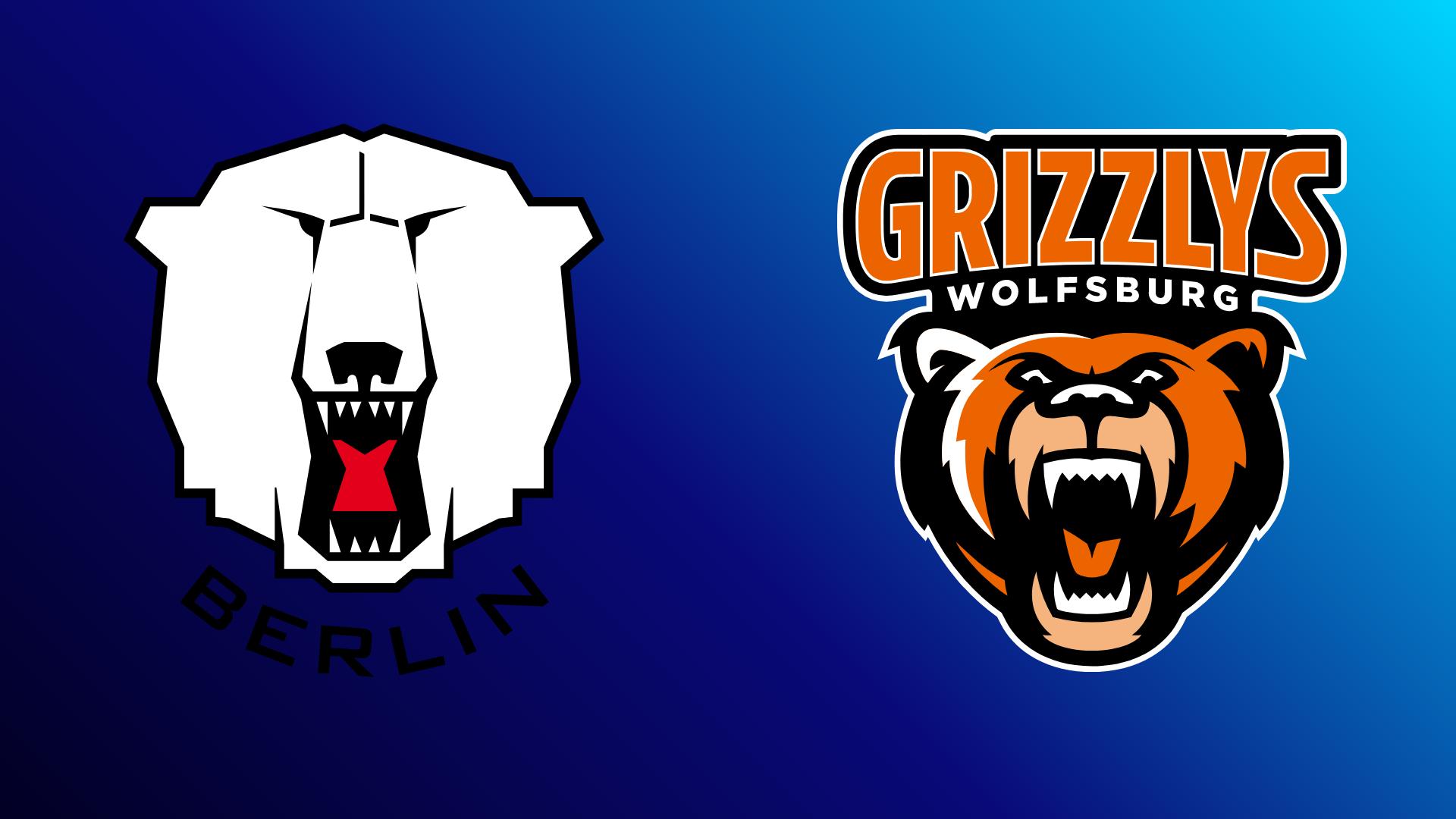 Eisbären Berlin - Grizzlys Wolfsburg 01.03.2021 um 20:15 Uhr auf Magenta Sport