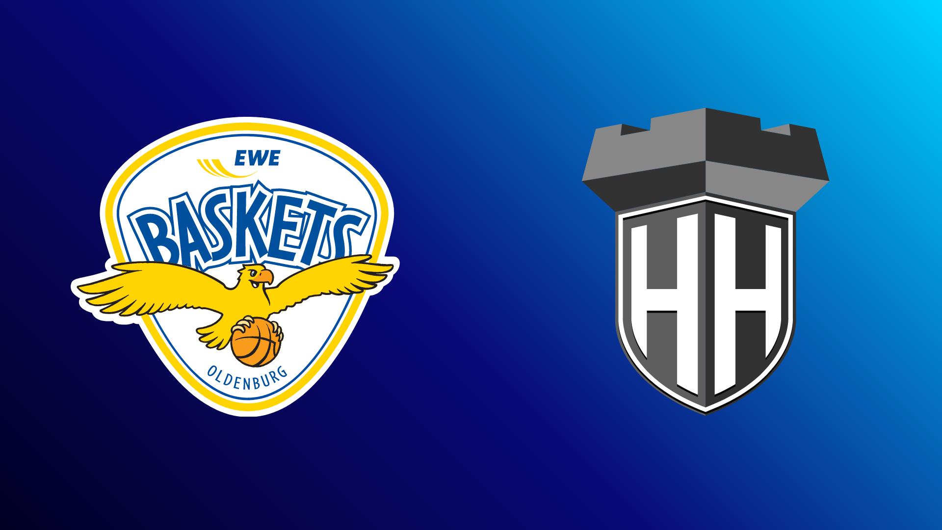 EWE Baskets Oldenburg - Hamburg Towers 22.10.2021 um 20:15 Uhr auf Magenta Sport