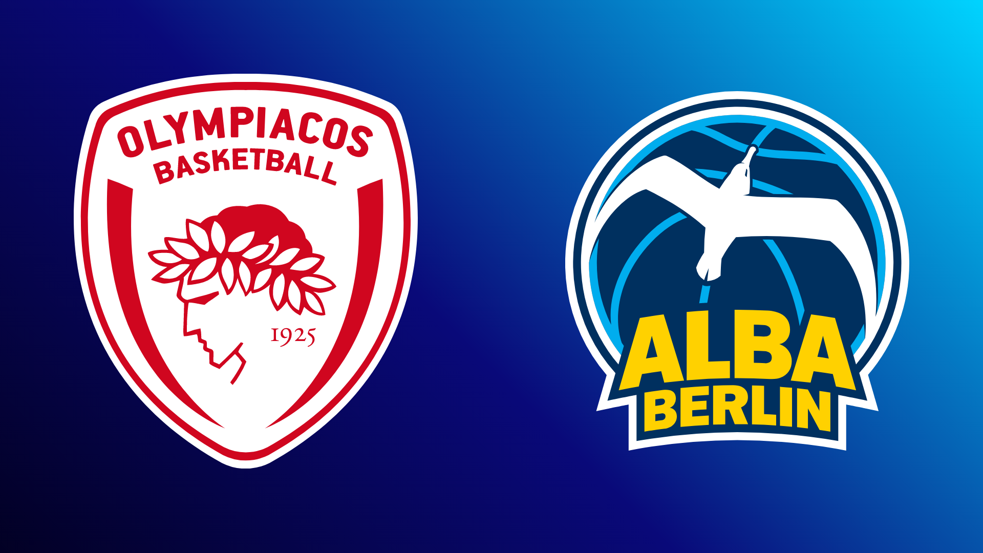 Olympiakos Piräus - ALBA BERLIN 26.10.2021 um 19:45 Uhr auf Magenta Sport