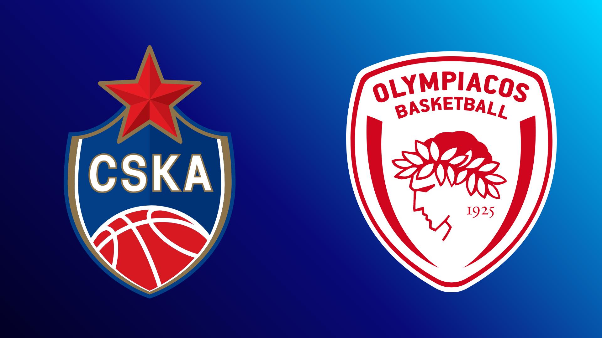 ZSKA Moskau - Olympiakos Piräus 22.10.2021 um 18:45 Uhr auf Magenta Sport