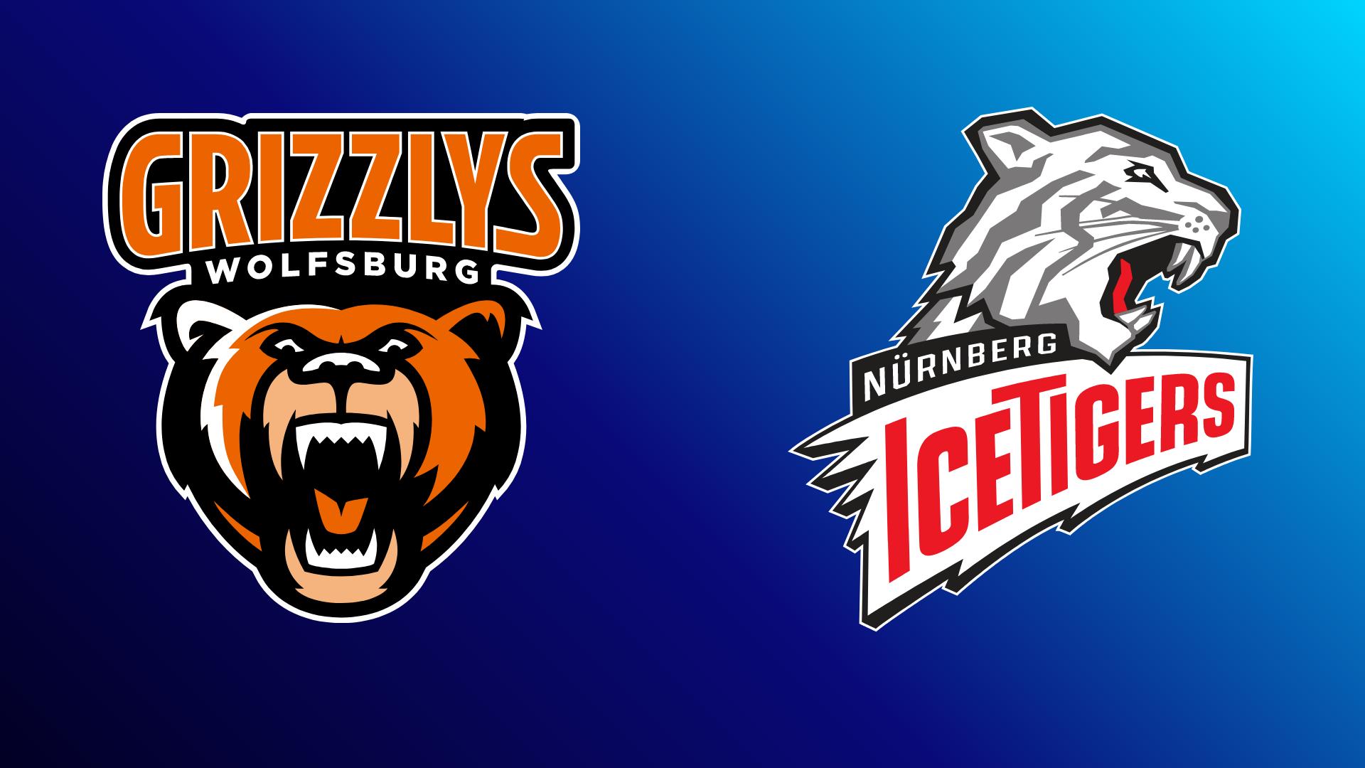 Grizzlys Wolfsburg - Nürnberg Ice Tigers 19.10.2021 um 19:15 Uhr auf Magenta Sport