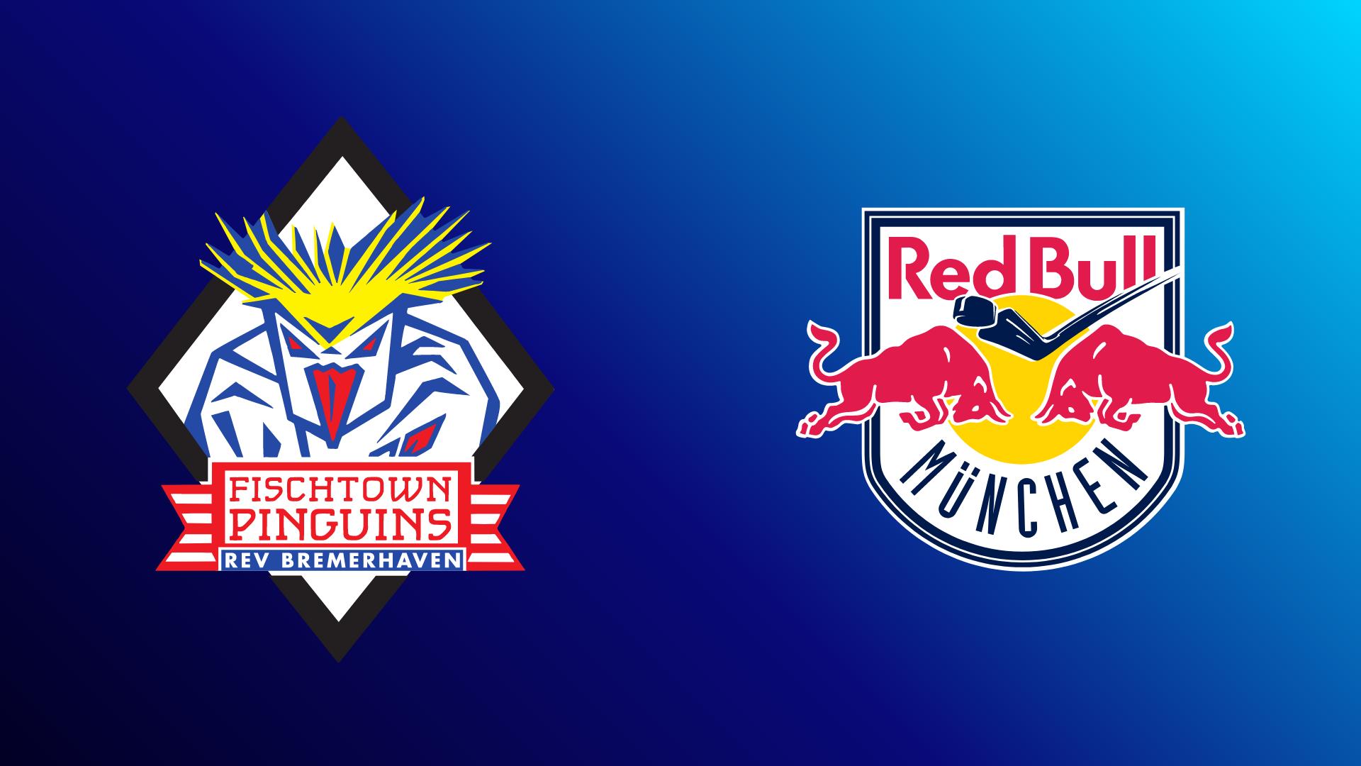 Pinguins Bremerhaven - EHC Red Bull München 26.09.2021 um 13:45 Uhr auf Magenta Sport