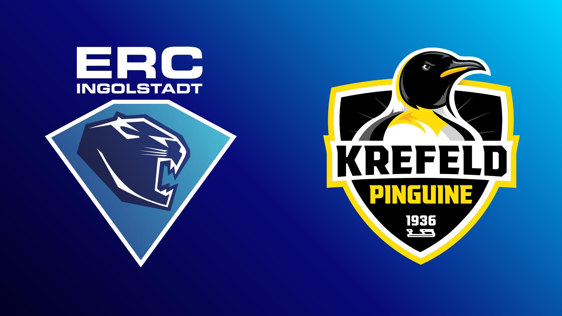 ERC Ingolstadt - Krefeld Pinguine 19.10.2021 um 19:15 Uhr auf Magenta Sport
