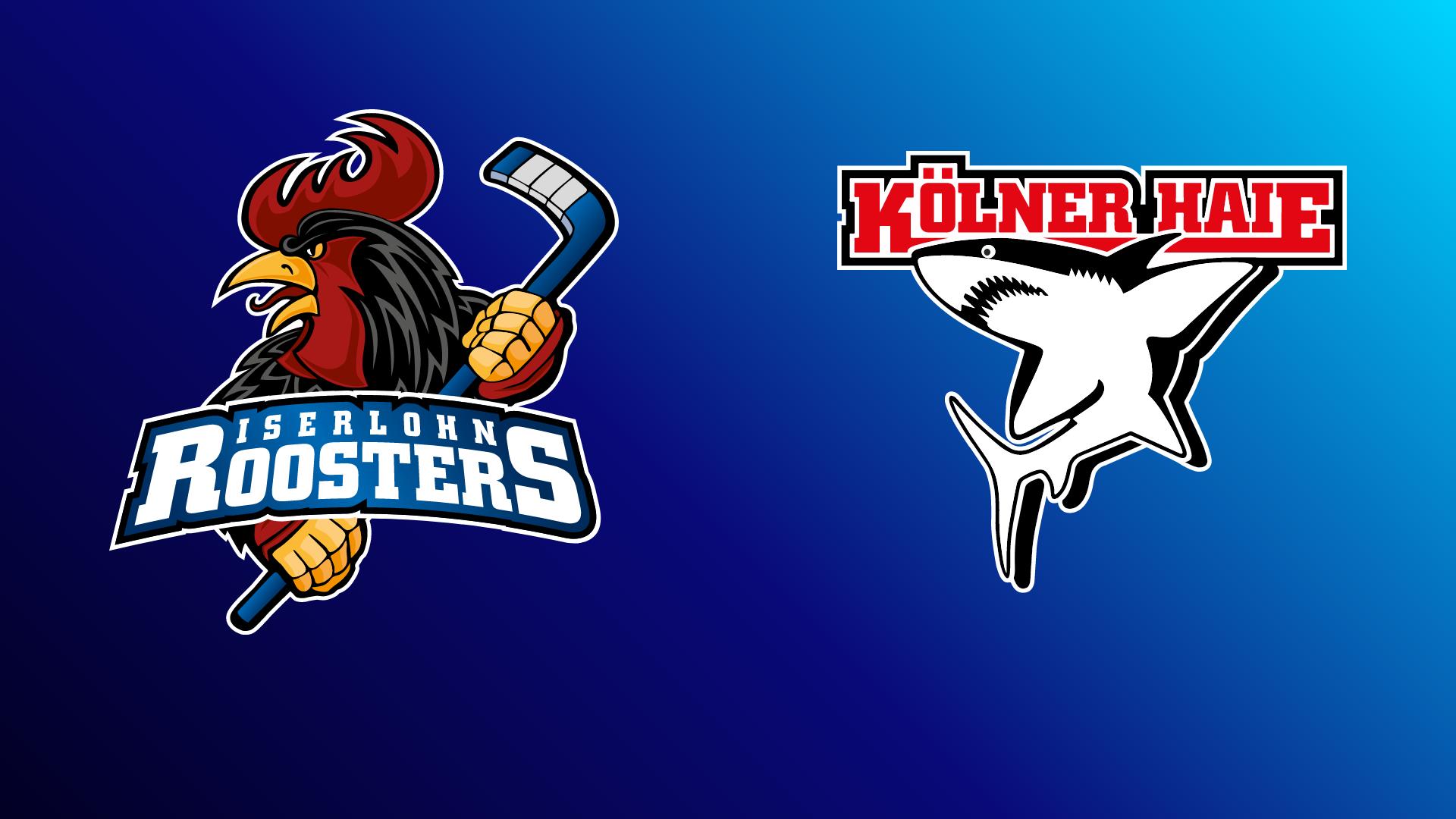 Iserlohn Roosters - Kölner Haie 26.09.2021 um 13:45 Uhr auf Magenta Sport