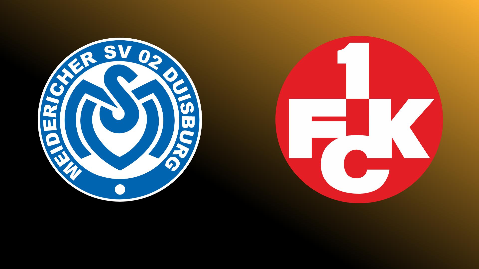 MSV Duisburg - 1. FC Kaiserslautern 25.10.2021 um 18:45 Uhr auf Magenta Sport