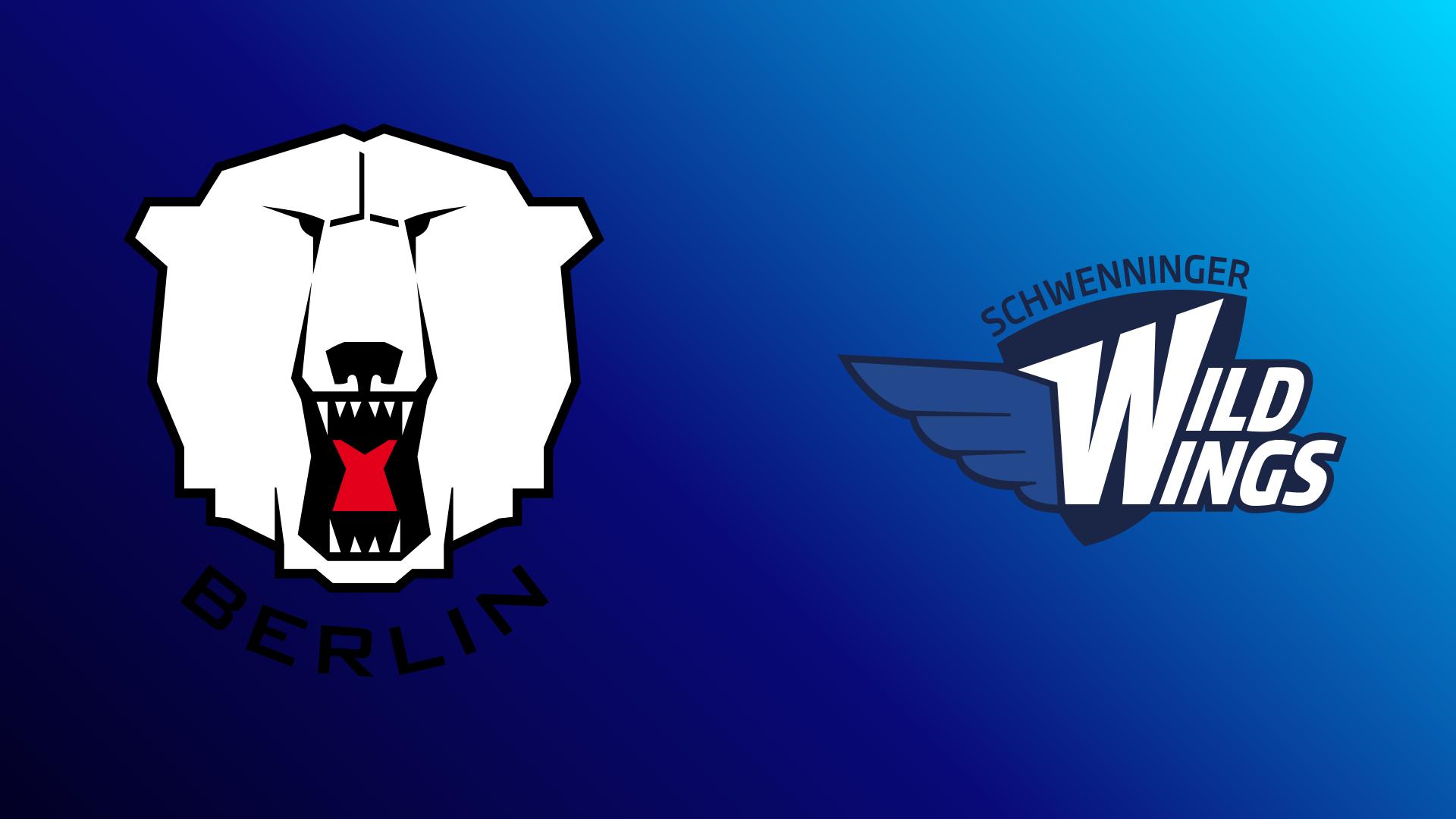 Eisbären Berlin - Schwenninger Wild Wings 22.10.2021 um 19:00 Uhr auf Magenta Sport